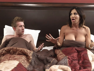 Tara Holiday & Danny D in Overnight With Stepmom: Part One - Brazzers big tits creampie