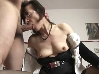 German Granny Sex mature straight