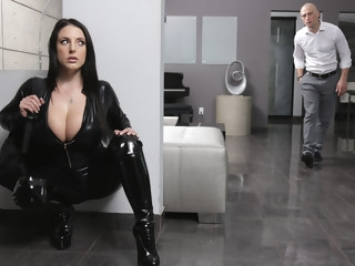 Angela White & Zach Wild in Busting On The Burglar - BRAZZERS anal australian