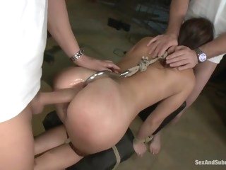 The Russian Spy anal brunette