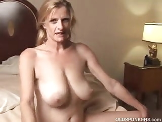 Trailer Trash mature granny