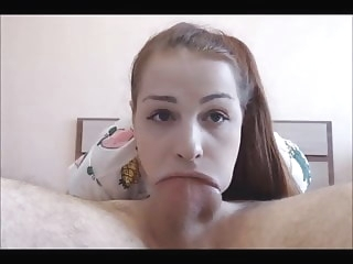 Teen Loves To Deepthroat Suck amateur blowjob