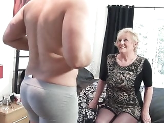 British old slut's cunt requires a new big cock every day mature top rated
